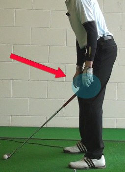 Check Your Distance from the Golf Ball at Setup 1
