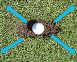 Divots Provide Valuable Swing Info 2