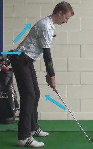 Good Posture for Good Golf 3