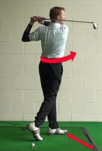 Step Through with Right Foot to Keep Left Side Stable 1