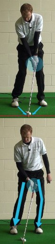 Two Options on Uphill Chip Shots, Golf Swing Tips