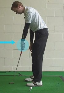 chipping golf stricker