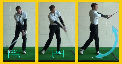 Accelerate at Bottom of Golf Swing, Not Top 3