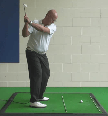 Senior Golf Tip 9: Over-the-Top Swing Can Be Effective