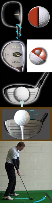 Causes and Cures: Drives are Too High - Golf Tip