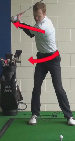 driver backswing