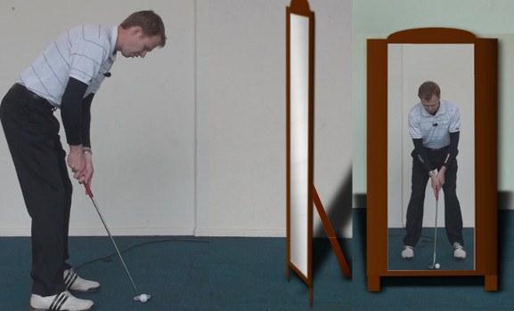 mirror putting