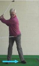 senior front knee flex 2