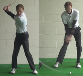 accelerate at the bottom of golf swing 1