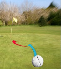 how to play double breaking putts 2