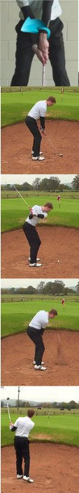 Bounce the Ball Through a Bunker When Choices are Limited, Golf Tip