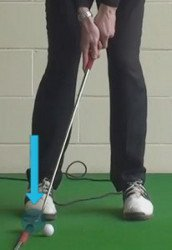 ball against collar putt with toe 2