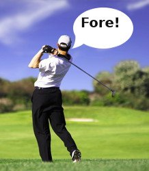 Fore – Golf Term