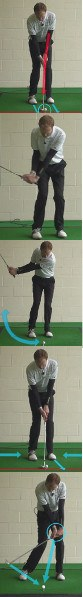 Chipping Golf Tip: Hands Lead Clubhead