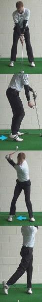 Fat Shot Golf Drill: Right Heel Up at Address
