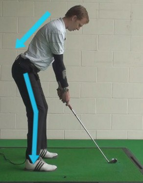 Maintain Forward Bend Throughout Swing