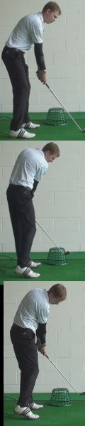 Slice Golf Shot Drills: Basket Inside the Line