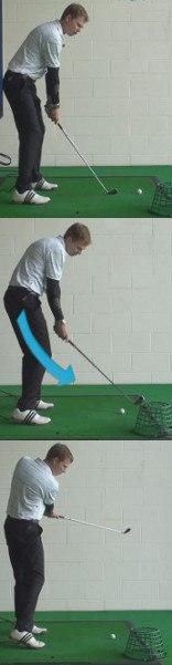 Slice Golf Shot Drills: Basket Outside the Line