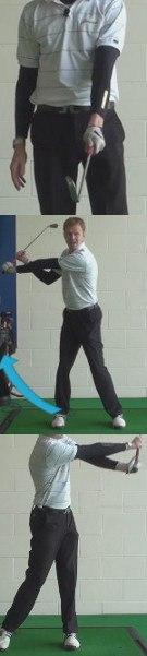Slice Golf Shot Drills: Split-Handed Swing for Better Rotation