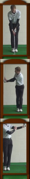 More Power Golf Drills: Hinge Wrists in an L Shape