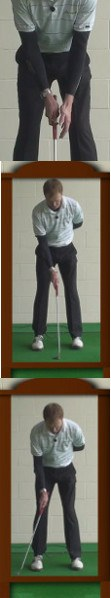 Smooth Putting Stroke Golf Drills: Ghost Hands