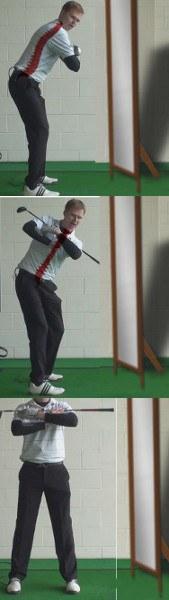 Swing Plane Golf Drills: Maintain Spine Angle