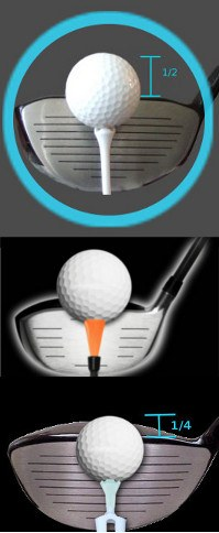 Beginner Golf Tip Correct Tee Height For Hitting The Driver