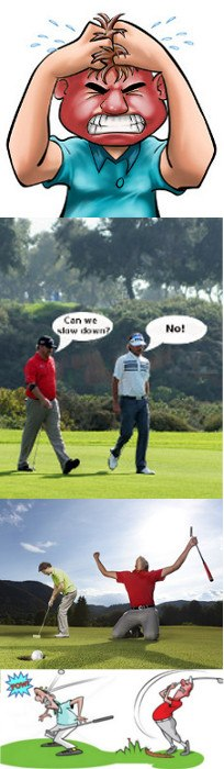 playing-with-experienced-golfers