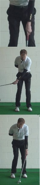 Left-Hand Drill for Crisp Chip Shots, Golf Tip