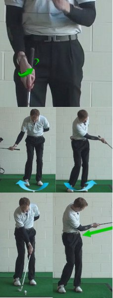 Right-Hand Golf Drill for Crisp Chip Shots