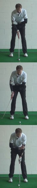 Stabilize Arms to Tilt Shoulders when Putting