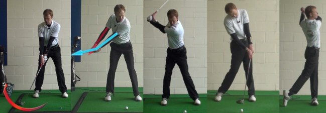 begin tip how to make a proper practice swing 2
