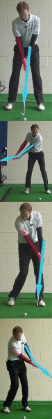 Golf Arms Connected to the Body