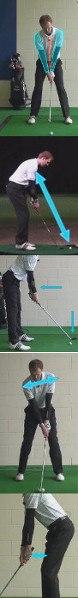 Golf Arms at Address