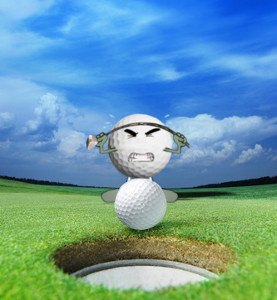 golf tip putting its in your head not your hands 1