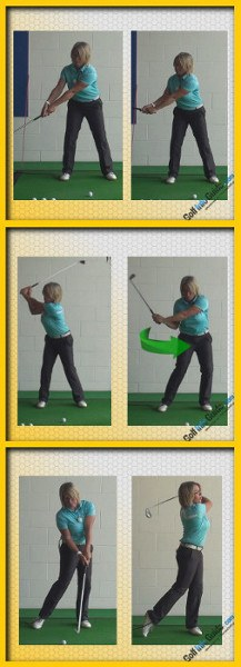 Golf Posture Knee Bend