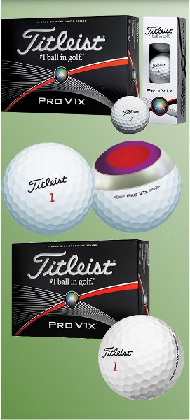 Titleist ProV1x (2015 model): Softer Feel, More Spin, Same Great Performance