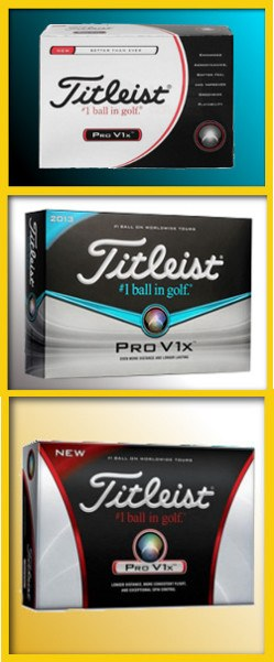 Titleist ProV1x: Lower Golf Ball Flight, Same Great Performance