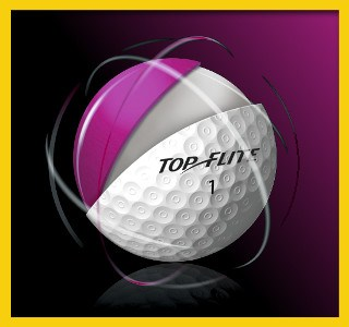 Top-Flite Gamer Golf Ball 1