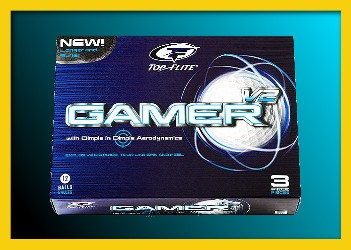 Top-Flite Gamer Golf Ball 3