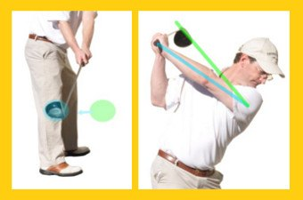 What is a Flat Golf Swing 1