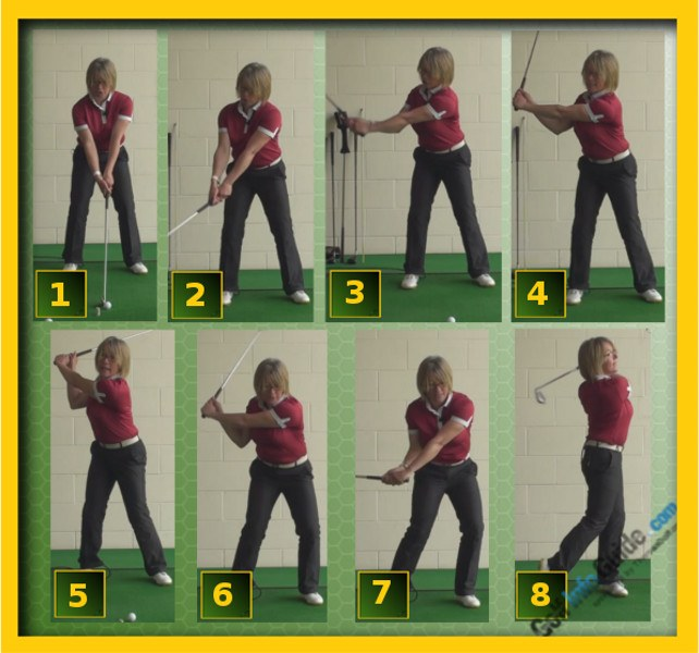 How And Why A Proper Connected Ladies Golf Swing Creates