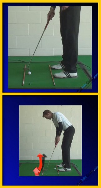 Consistently Putt Better In Golf, Tour Alignment Stick Drill
