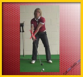 Correct the Golf Ball from Hooking Slow Down the Hands 1