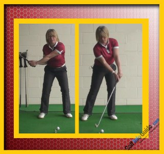 Correct the Golf Ball from Hooking Slow Down the Hands 2