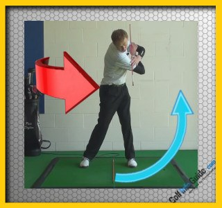 Create More Power In The Golf Swing, Make A Full Turn, Tour Alignment Stick Drill 3