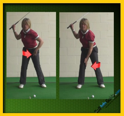 Cut Down On Your Golf Backswing Sway for More Power 1