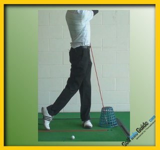 Develop More Power With The Golf Belt Buckle Drill 3