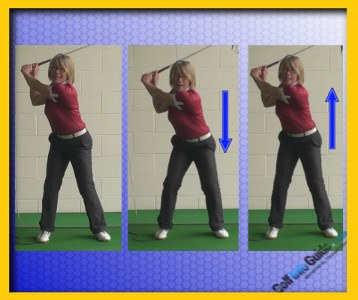 Golf Downswing Squat 1