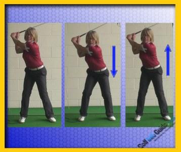 Golf Downswing Squat 1